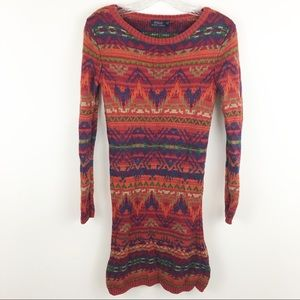 Polo Ralph Lauren blanket beacon sweater dress
